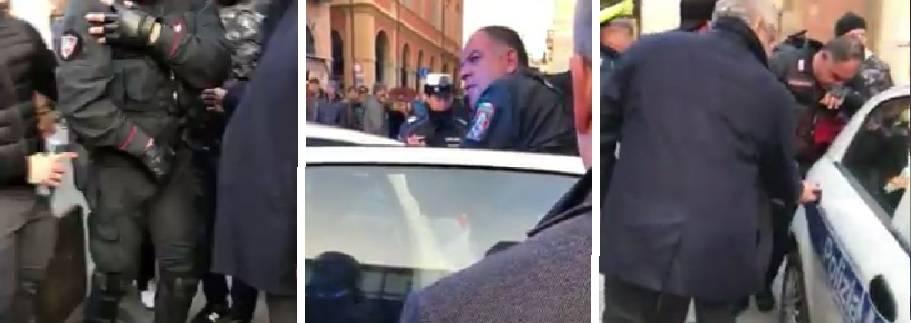 """Il dolore del carabiniere ferito: """"Onore a te e alle forze dell'ordine"""""""