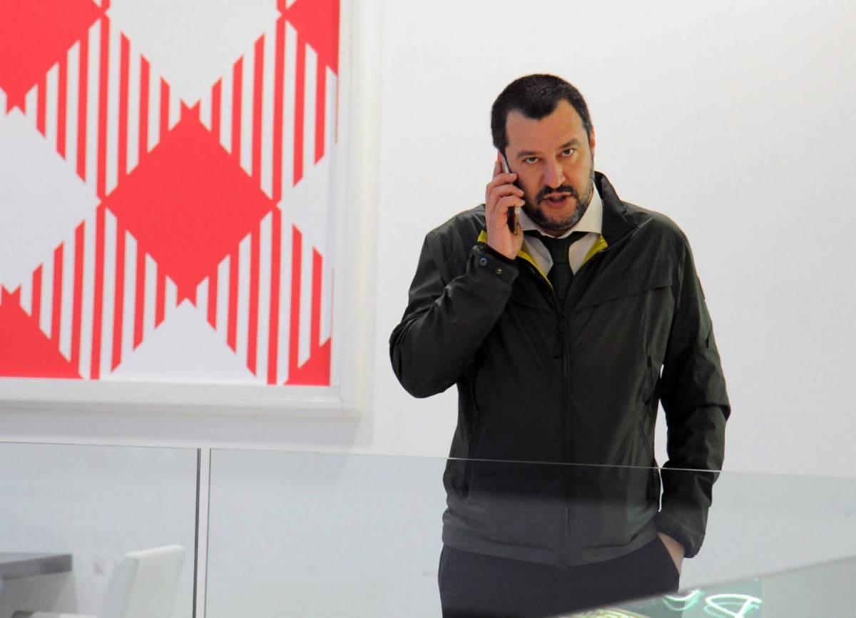 """Salvini: """"Sinistra antisemita. Io ho chiuso con CasaPound"""""""