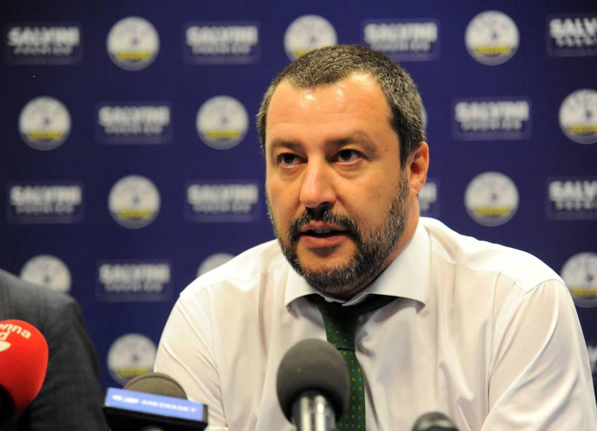 """Matteo Salvini: """"Il governo Pd-grillini? Ipotesi raccapricciante"""""""