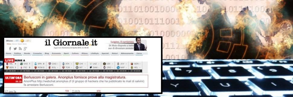 IlGiornale.it sotto attacco hacker