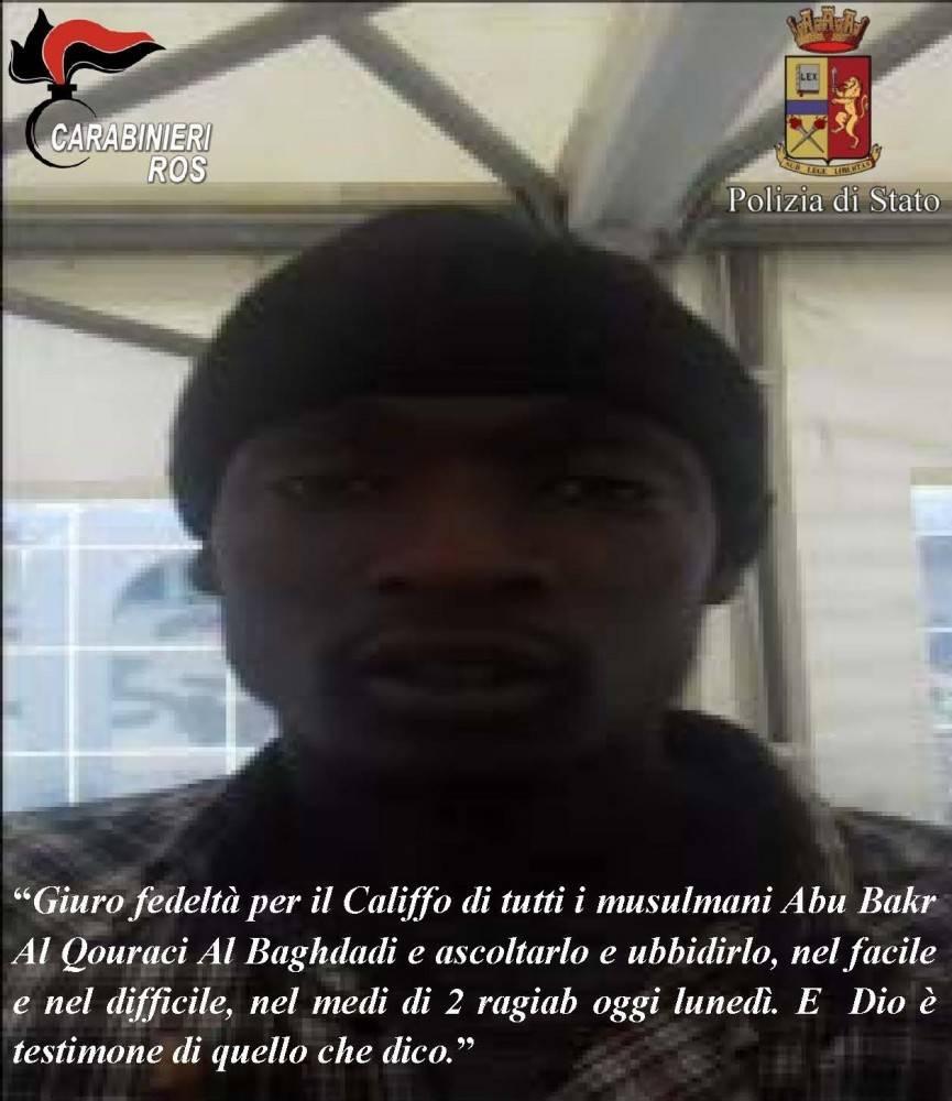 Preso a Napoli terrorista gambiano affiliato all'Isis che progettava attentati