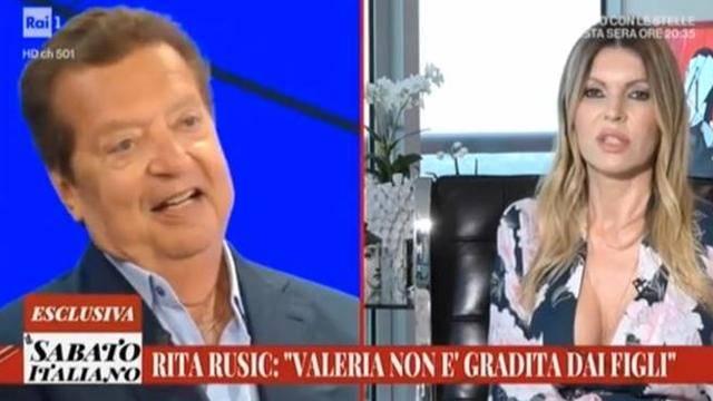 """Rita Rusic contro Valeria Marini: """"Ha rovinato la famiglia Cecchi Gori"""""""