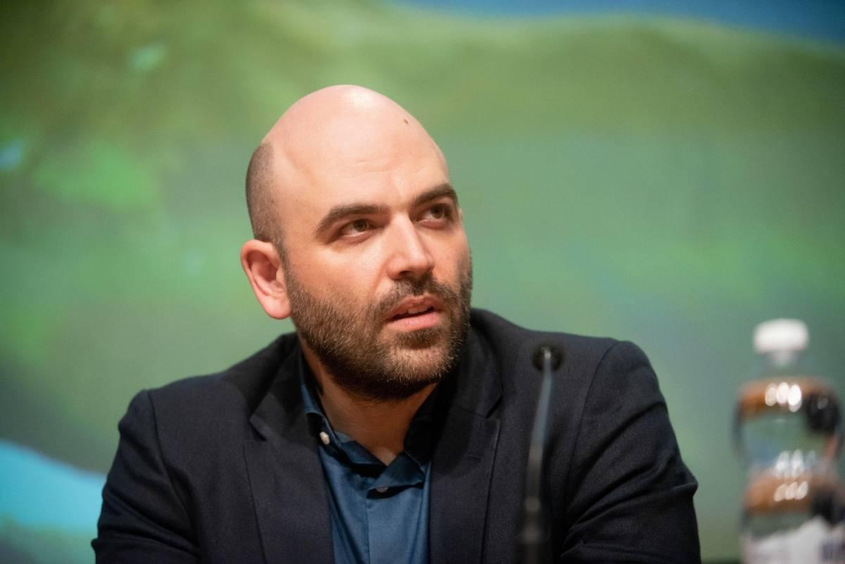 Roberto Saviano al Salone Internazionale del Libro