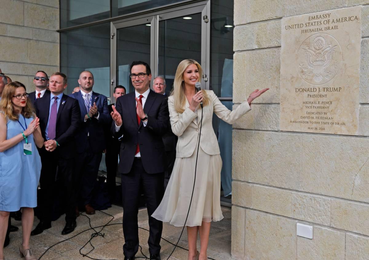 Gerusalemme, inaugurata la nuova ambasciata Usa