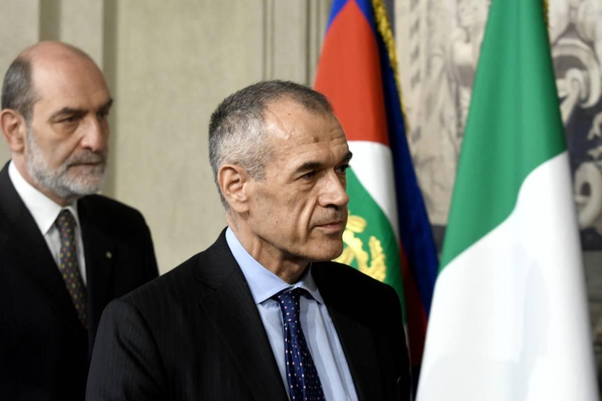 Governo, Cottarelli rimette il mandato