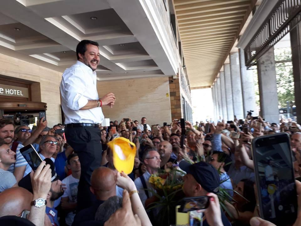 """Migranti, Salvini: """"Solo buon senso: la Sicilia non sia campo profughi Ue"""""""