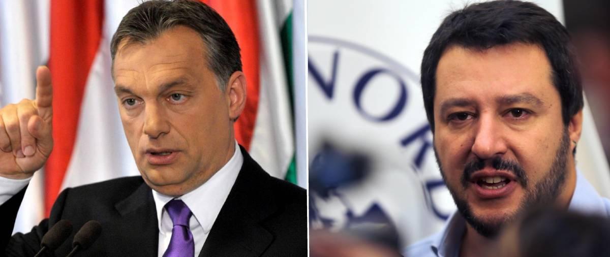 """Orban benedice Salvini e Austria: """"In Ue ora ci sono uomini duri"""""""