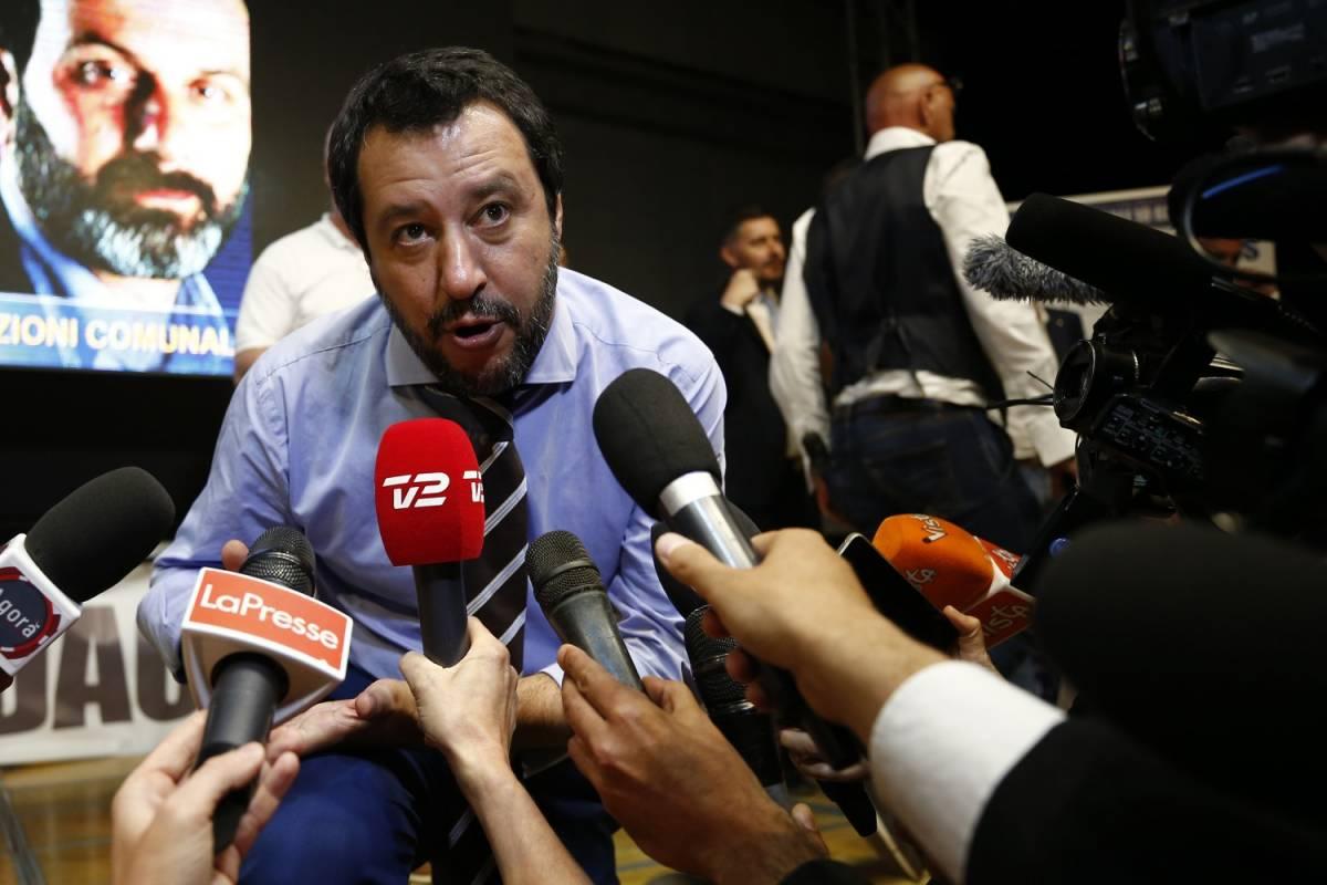 """Salvini: """"L'Iva non aumenterà. Rom? Non faremo leggi speciali"""""""