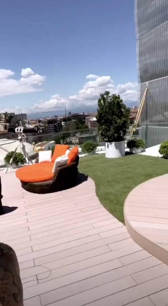 Chiara Ferragni nel nuovo attico con Fedez: vista mozzafiato