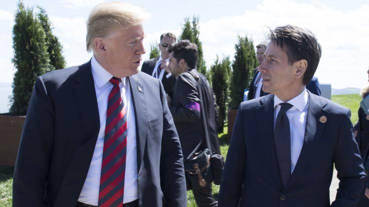 """Manovra e immigrazione, Trump promuove Conte: """"D'accordo al 100%"""""""
