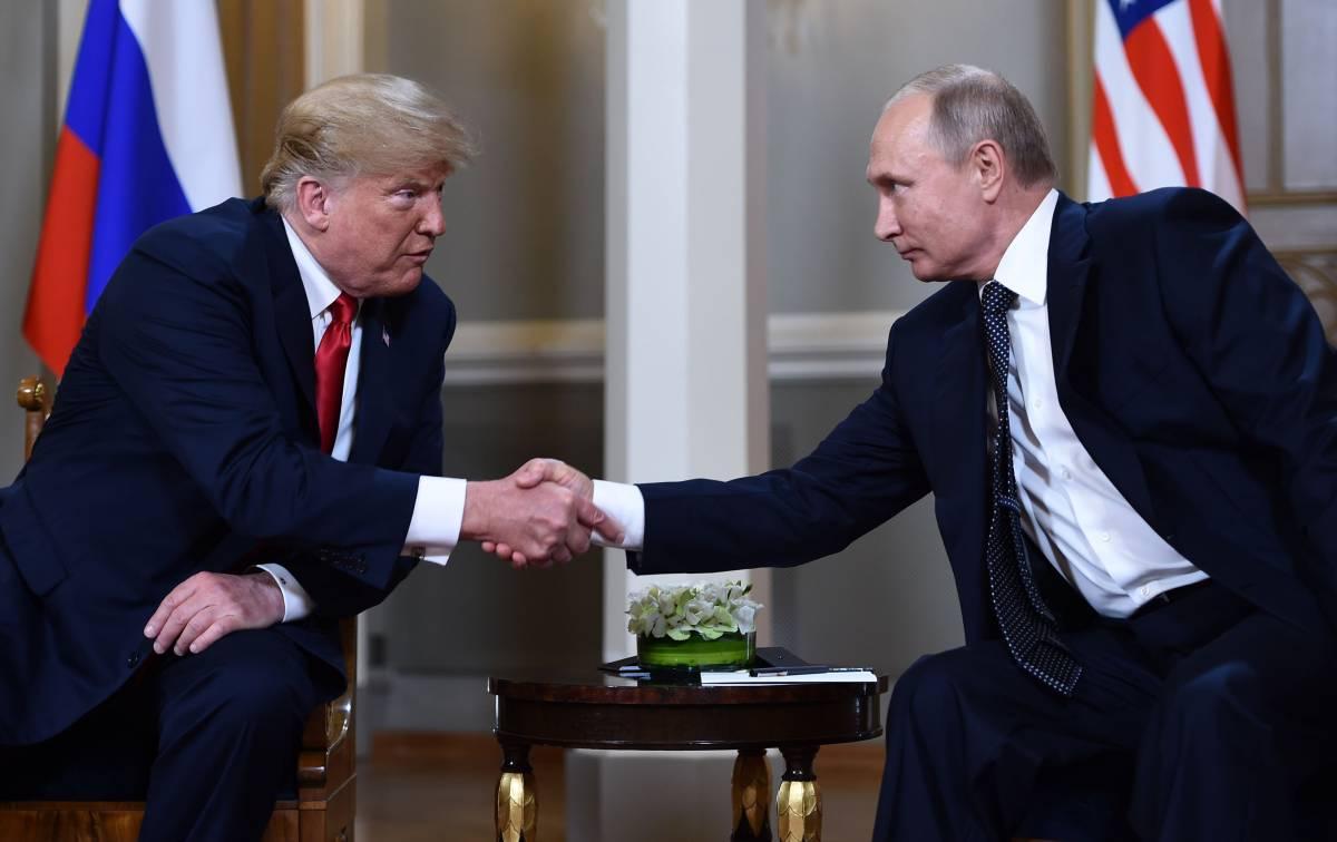 Storico faccia a faccia tra Putin e Trump