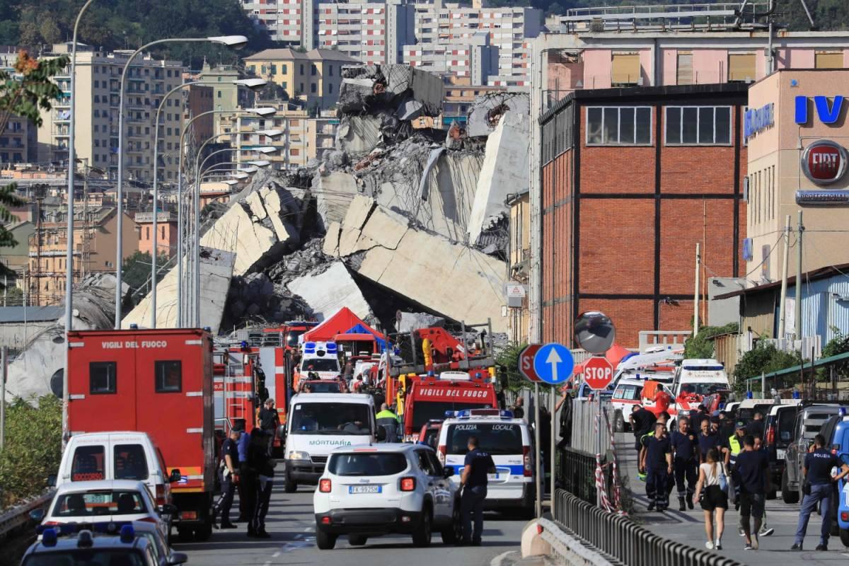 """Genova, un ingegnere del ponte: """"Avevo già denunciato le pericolose oscillazioni"""""""