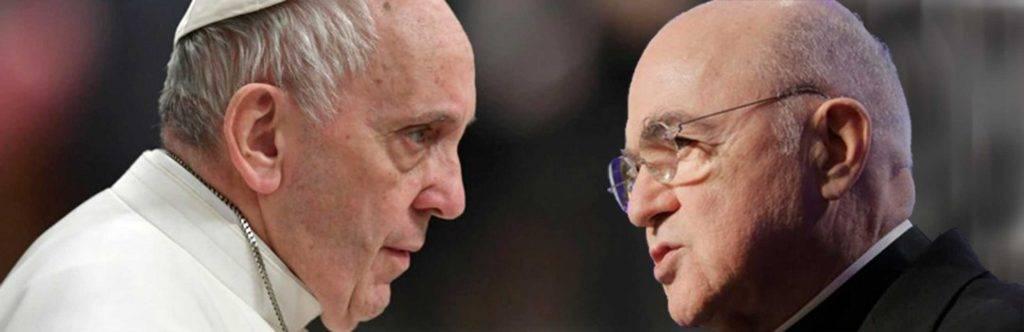 Viganò sconfessa ancora il Papa sul caso McCarrick
