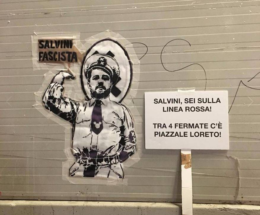 """Salvini sfida Renzi, Boschi e Boldrini : """"Adesso condannate questo"""""""