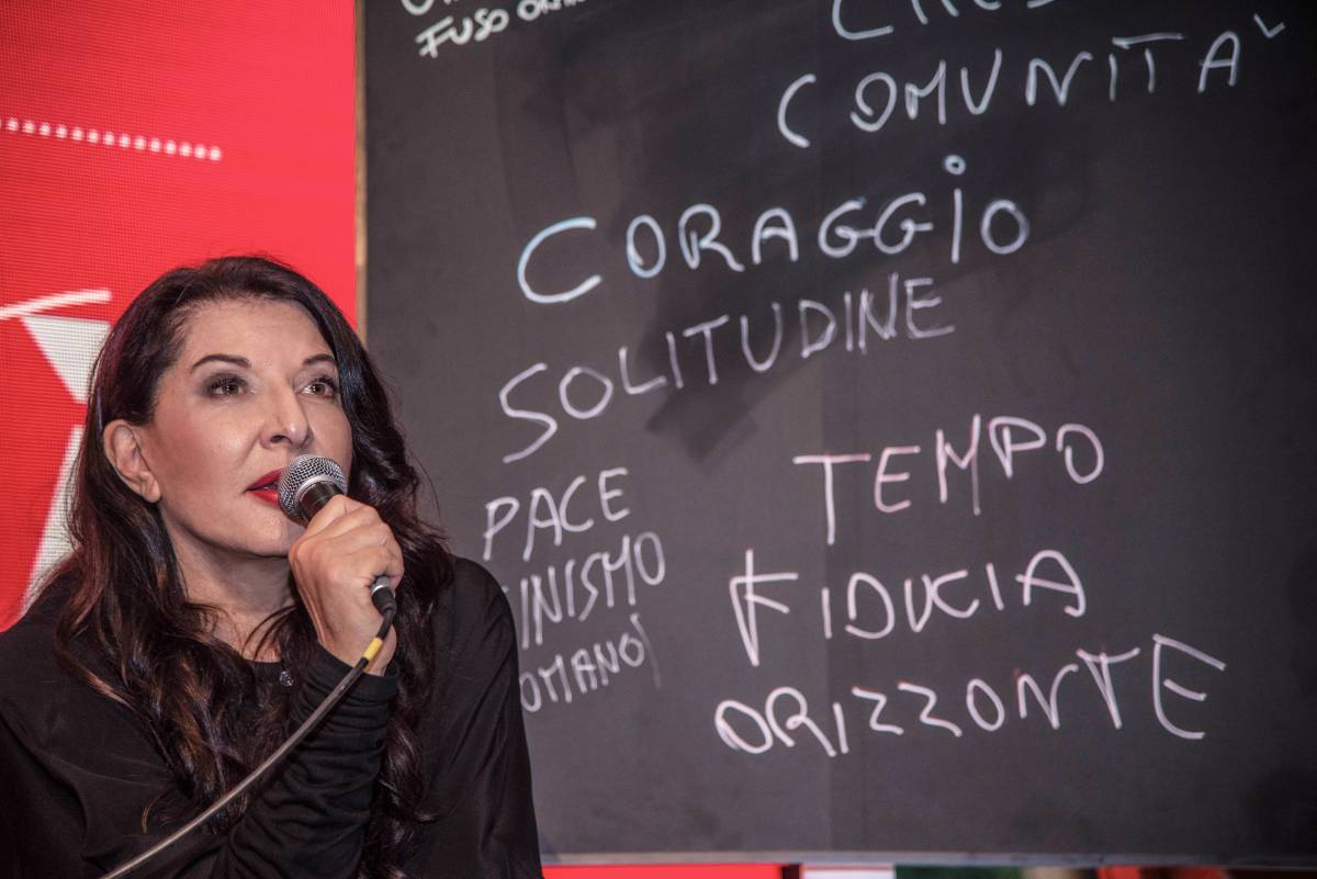 """Marina Abramovic: """"L'artista come un piatto con ingredienti diversi"""""""