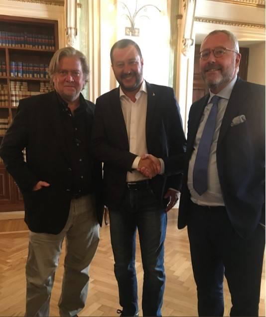 """Modrikamen: """"Salvini come Trump: con lui le cose possono cambiare davvero"""""""