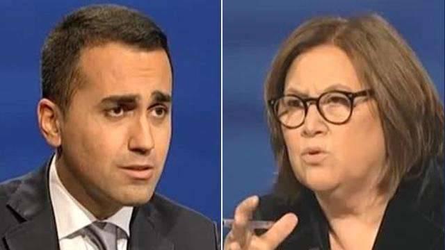 """La Annunziata contro Di Maio: """"Picchia un giornalista per educarne cento"""""""