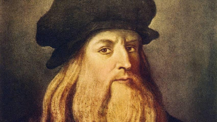 Leonardo  stupisce ancora il mondo: il suo dna da una ciocca di capelli