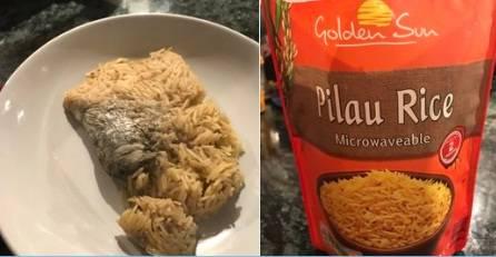 Compra un pacchetto di riso precotto al supermercato e trova un topo morto