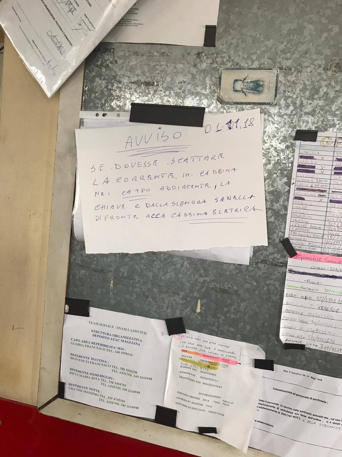 """Atac, la cabina elettrica del deposito resta """"ostaggio"""" dei rom"""