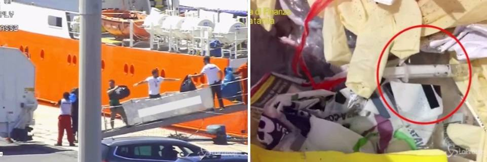 """""""Scaricava in Italia rifiuti infettivi dei migranti"""". Sequestrata la nave Ong"""
