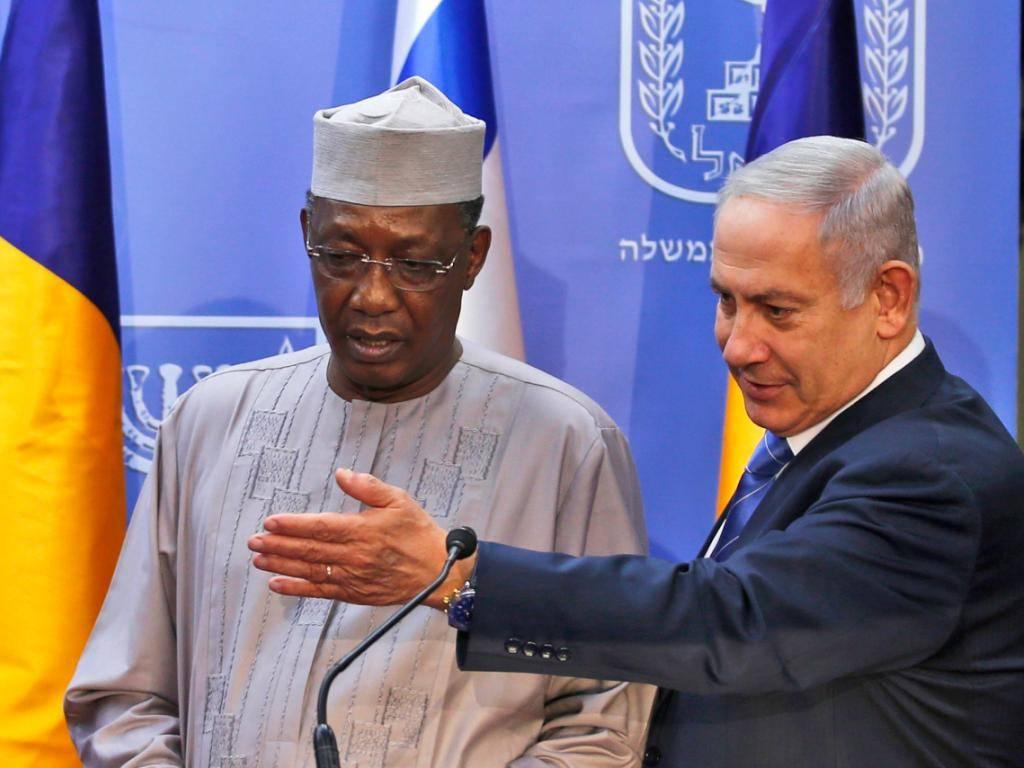 Israele e Ciad potrebbero presto ristabilire relazioni diplomatiche