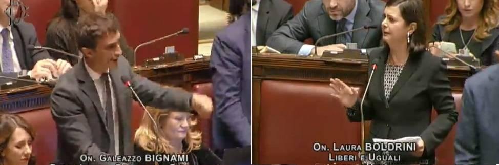 """Migranti, il forzista Bignami zittisce Boldrini: """"Foraggiate le coop rosse"""""""