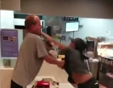 Aggressione al McDonald's, ma il cliente se la prende con la cassiera ex-pugile
