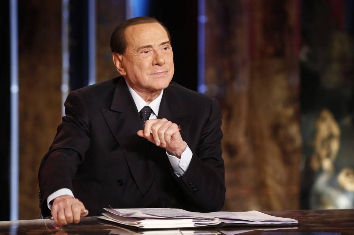 """L'allarme di Berlusconi: """"La manovra bis è certa. M5s farà la patrimoniale"""""""