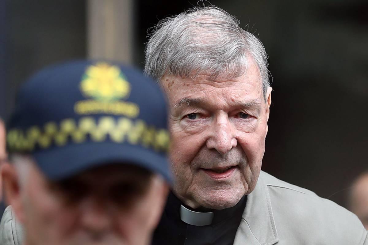 Pedofilia, il cardinale Pell (condannato) viene difeso dai conservatori