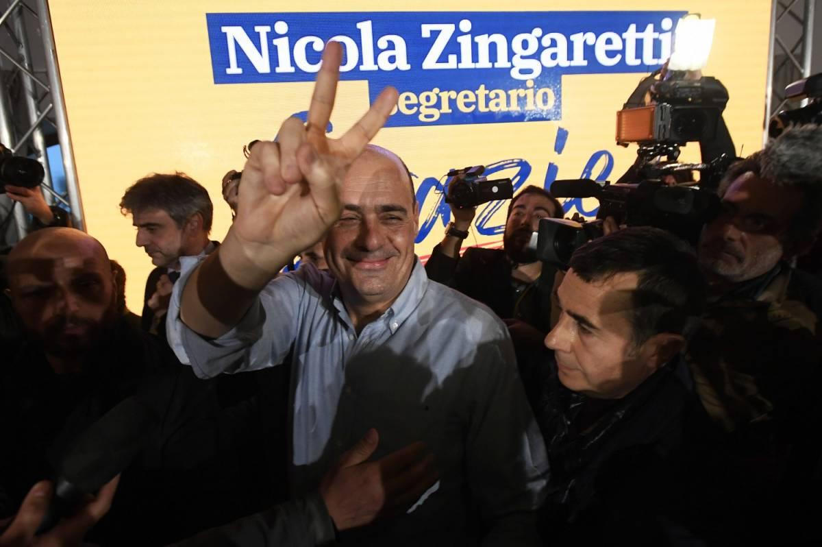 Primarie del Pd scontate: trionfa Nicola Zingaretti