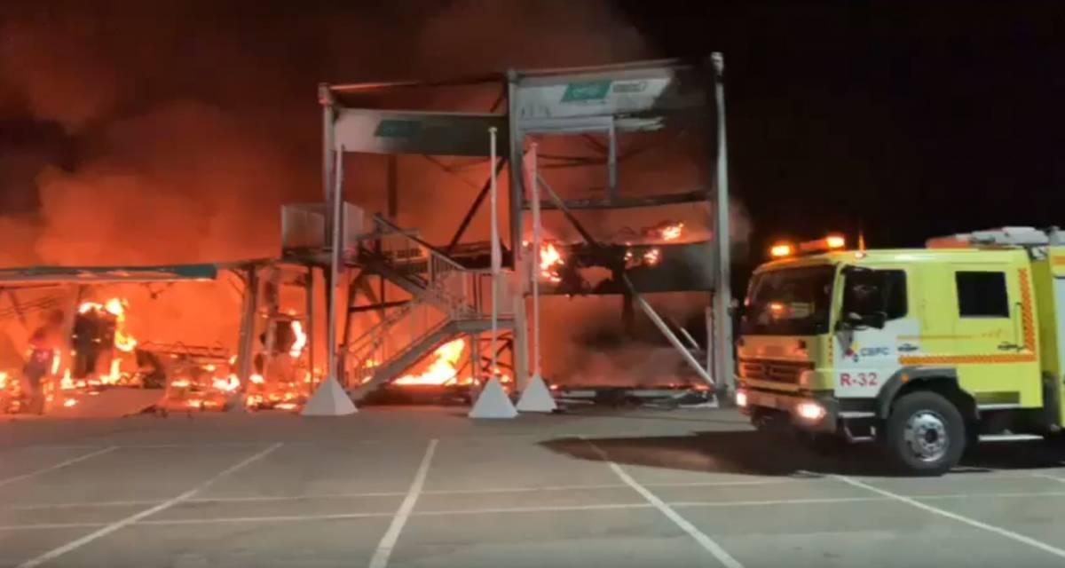 MotoE, incendio a Jerez: a rischio il campionato