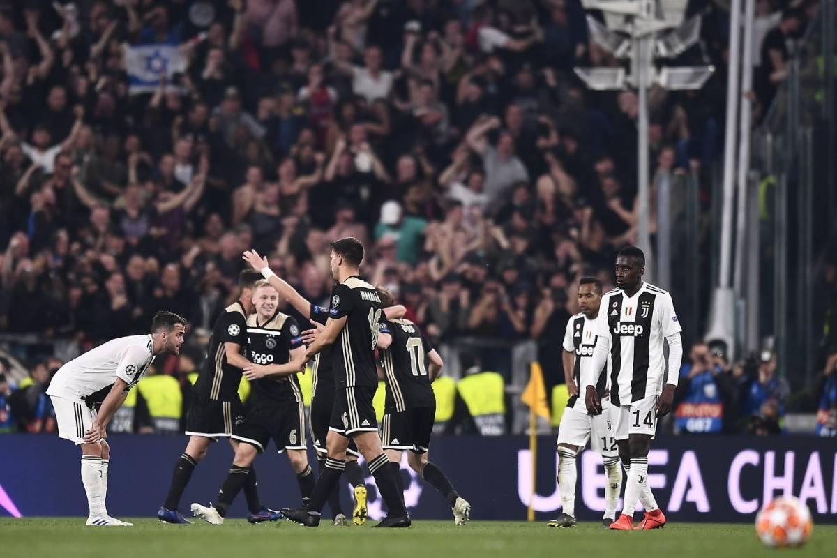 Champions, la Juventus è fuori. L'Ajax spegne i sogni di CR7