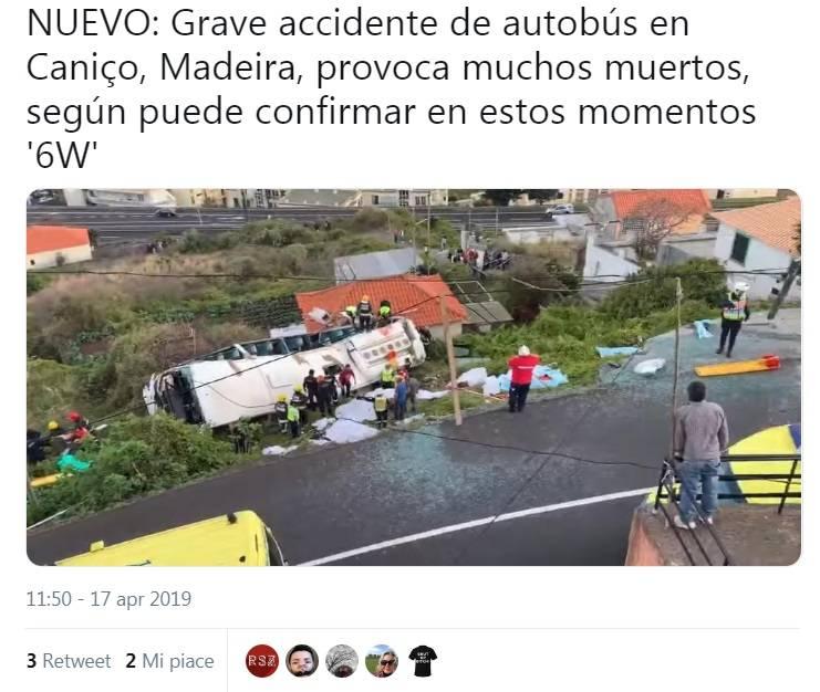 Il bus finisce in una scarpata. Strage di turisti in Portogallo