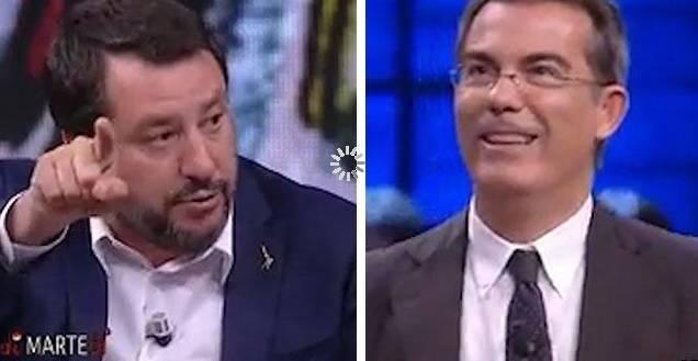 """Scontro Salvini-Floris: """"Tra chi ti guarda in tv anche scafisti e criminali"""", """"Come tra chi ti vota…."""""""