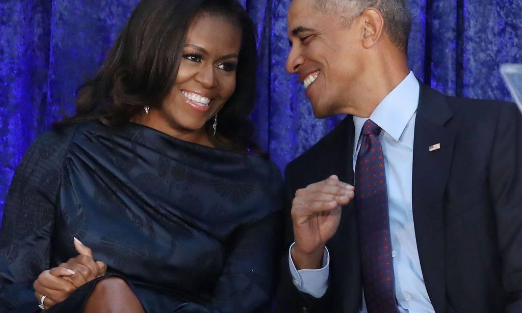 Tutta la famiglia Obama in Italia ospite di George Clooney a Laglio