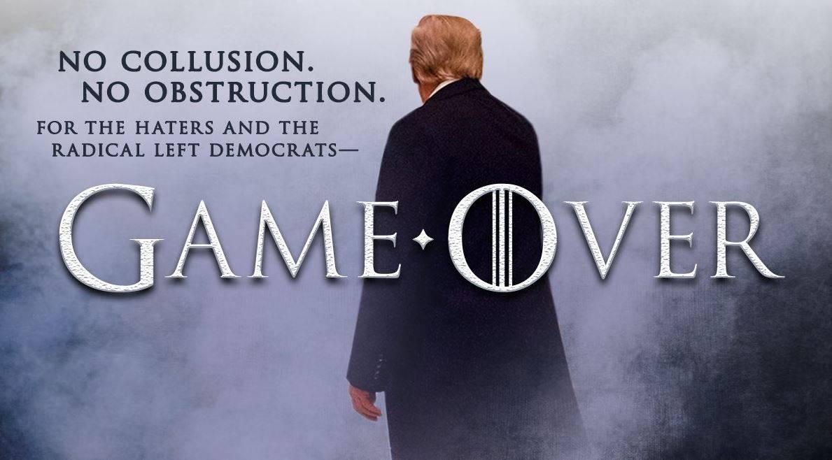 """Si chiude il Russiagate: """"Trump non colluso"""" E lui: """"Il gioco è finito"""""""