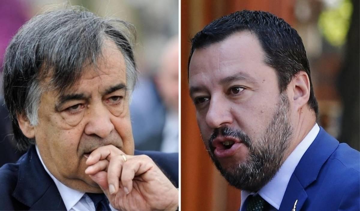 """Salvini irride Orlando: """"È un sindaco distratto: perché non aiuta i palermitani?"""""""