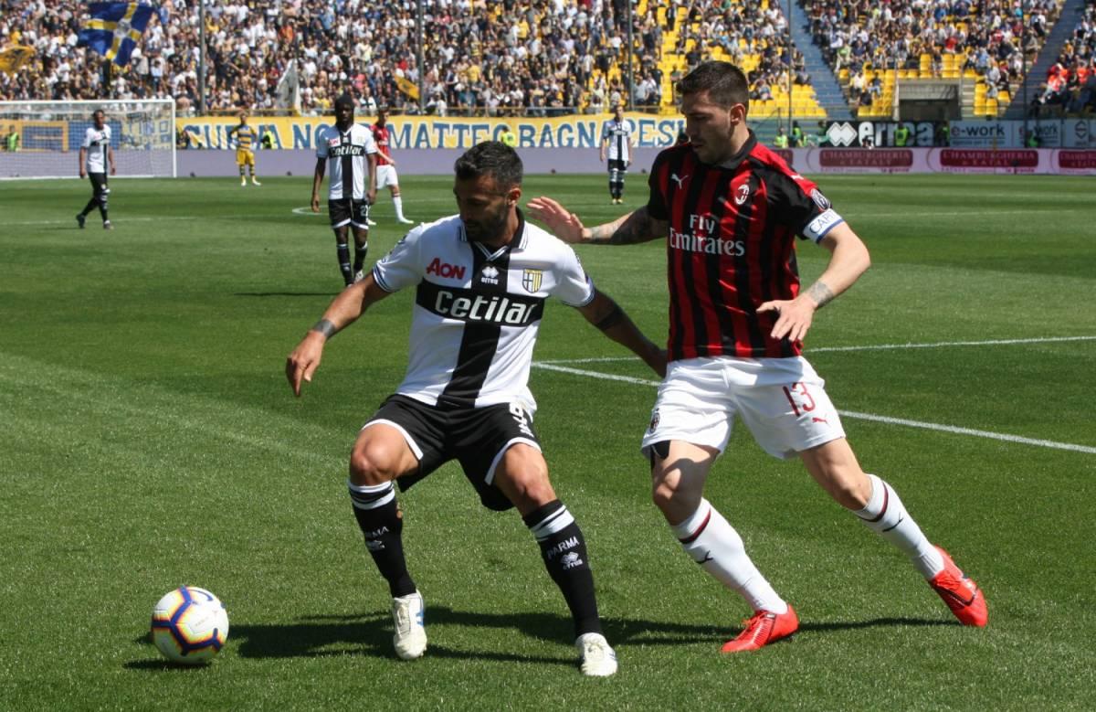 Il Milan stecca a Parma: finisce 1-1 al Tardini