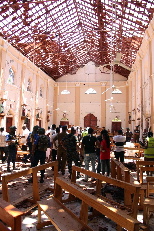 Sri Lanka, 7 terroristi islamici. Ignorato l'allarme dei servizi