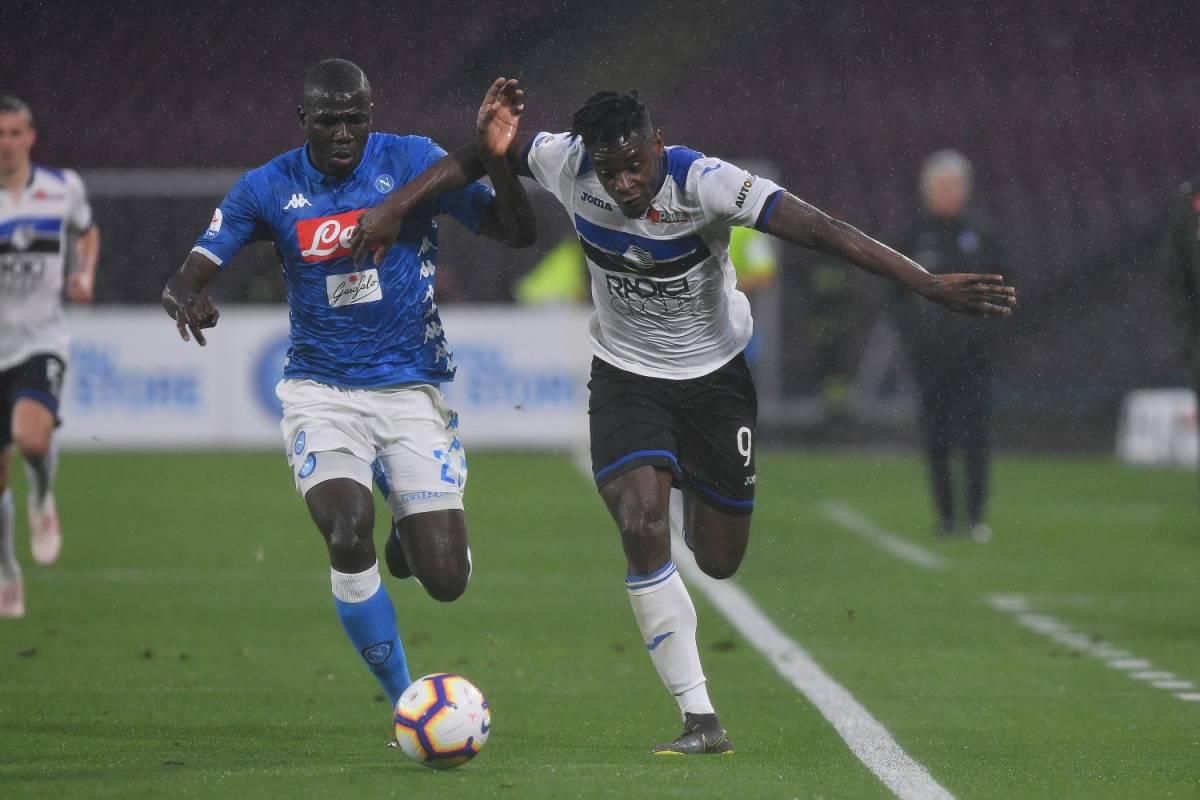 Napoli sprecone e l'Atalanta rimonta E ora per la Champions c'è una Dea