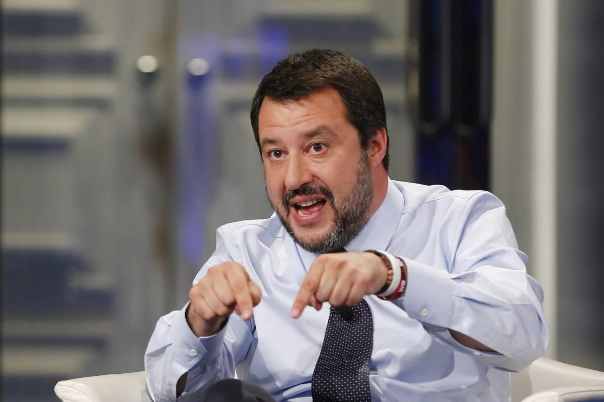"""Salvini mette alle strette Fazio: """"Dica il suo stipendio o non vado da lui"""""""