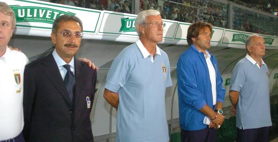 Narciso Pezzotti (il primo da destra). Courtesy of Aicfoto.com