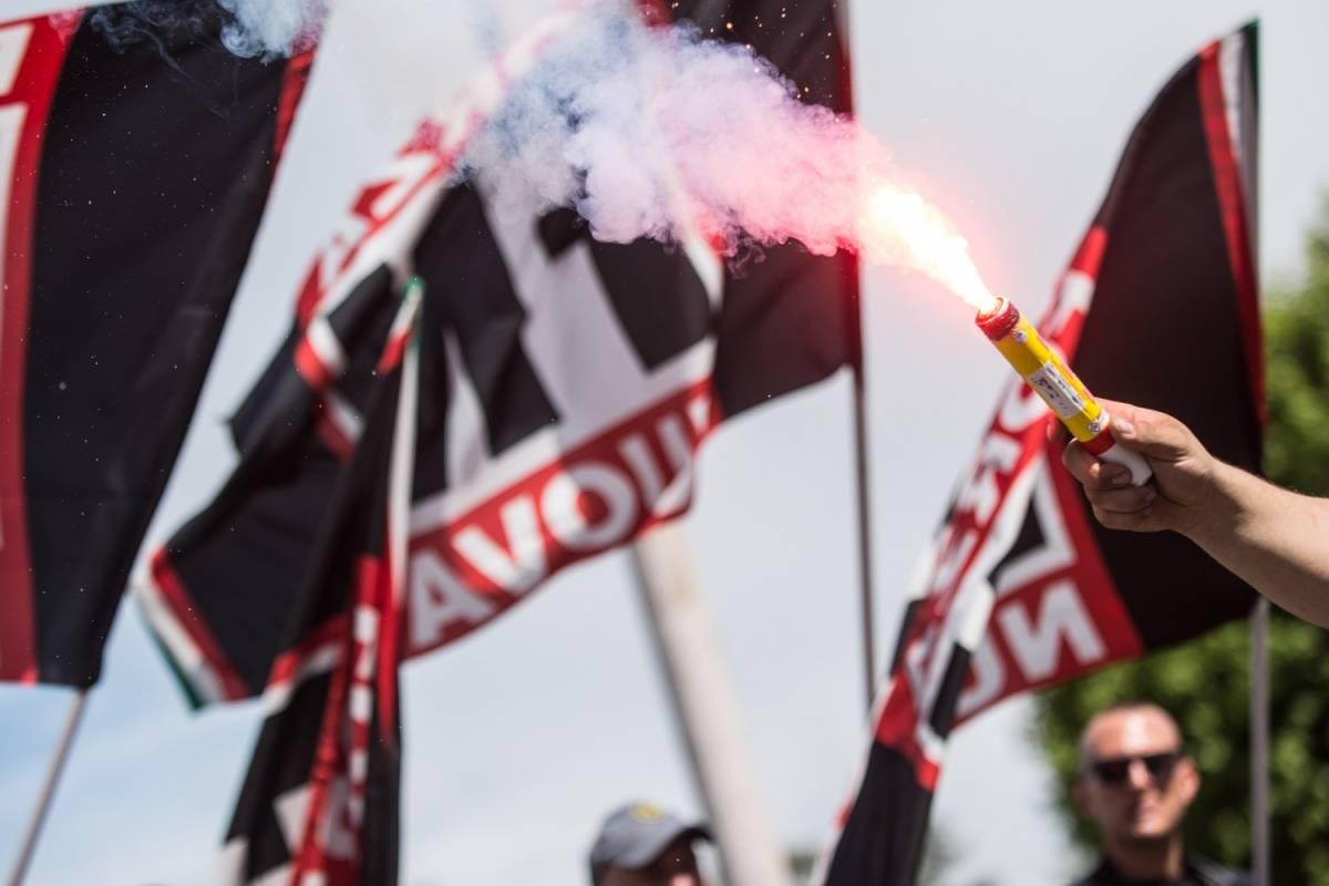 In Piemonte sequestri a Forza nuova, scatta la denuncia per apologia di fascismo