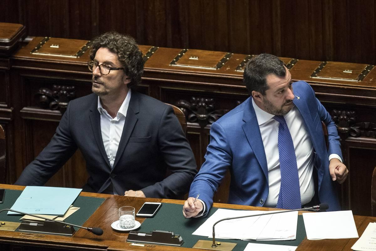 Salvini: Toninelli ministro dei blocchi