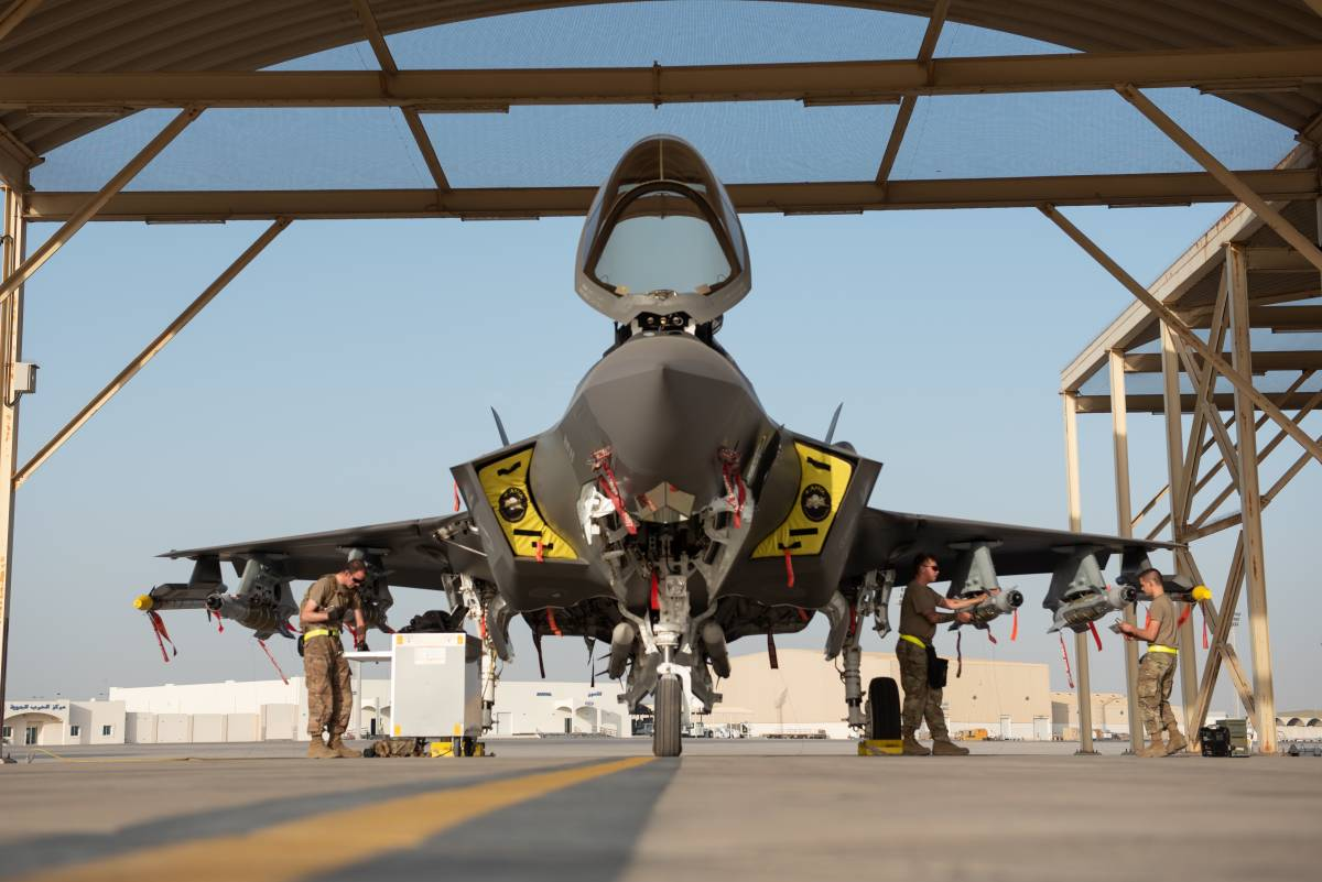 """F-35, le """"Bestie"""" entrano in azione in Afghanistan"""