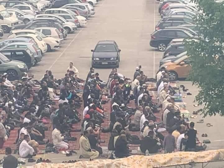 Cassino, la festa per il Ramadan in piazza Benedetto XVI