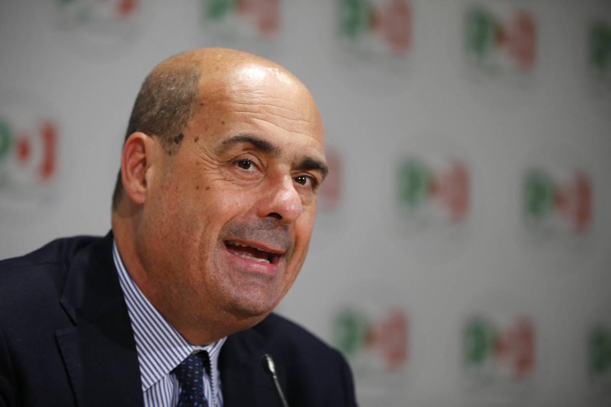 """Zingaretti annuncia: """"Ora raccogliamo le firme per le dimissioni di Salvini"""""""