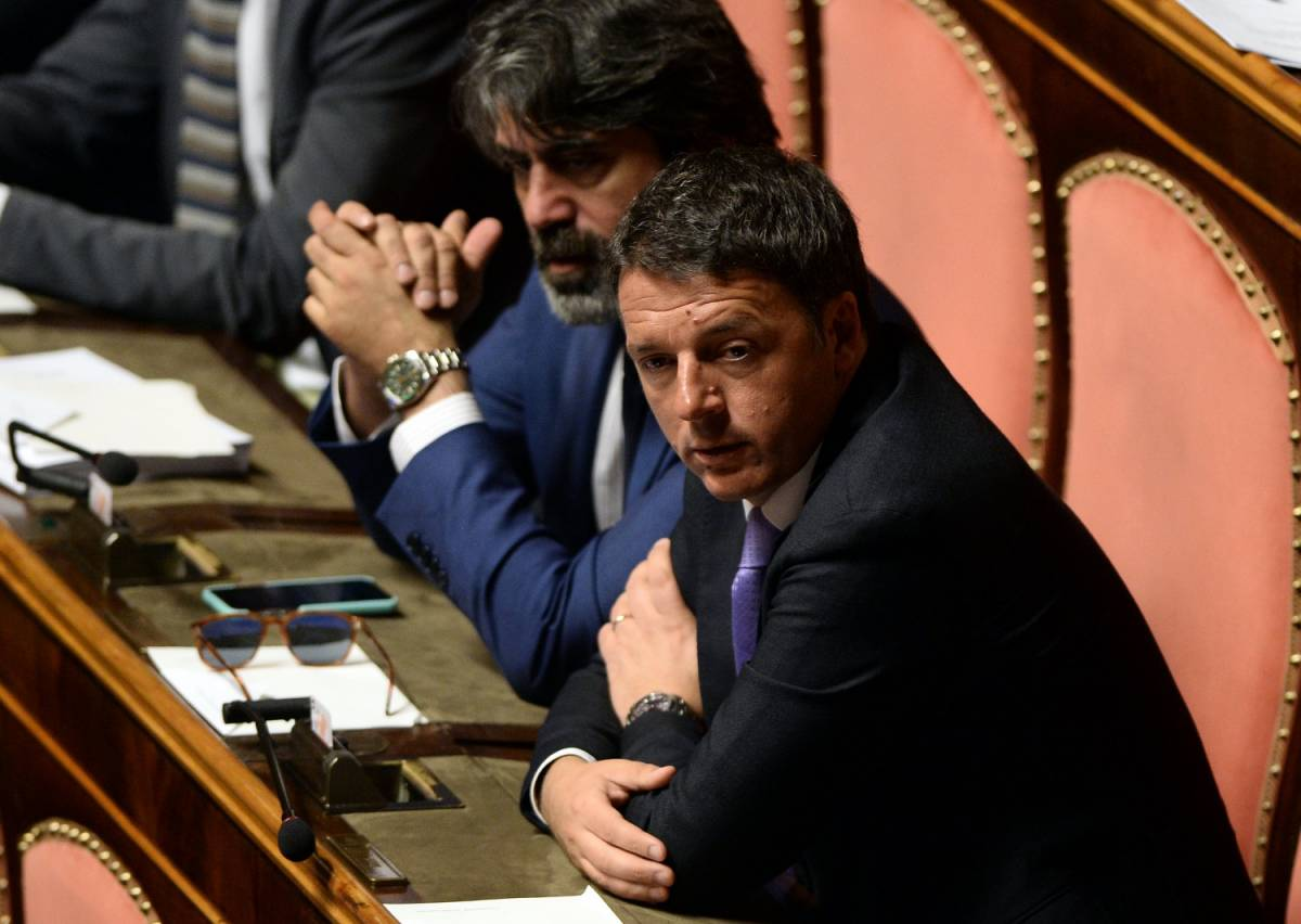 """Renzi: """"Istituzioni a rischio, se si va al voto è recessione"""""""