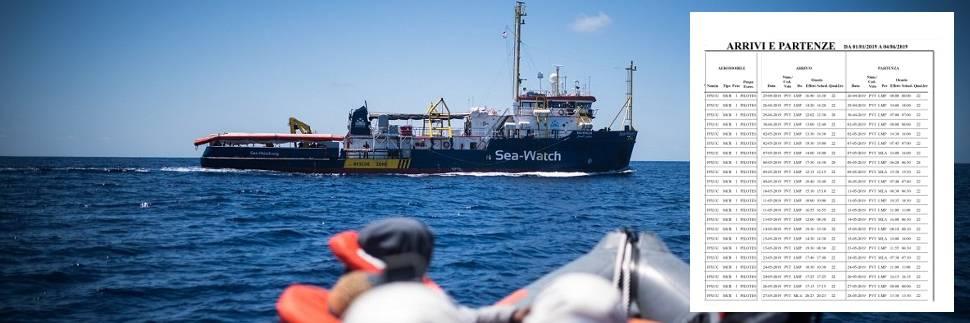 Tutti i voli segreti degli aerei ong: così da Lampedusa portano in Italia le navi dei migranti